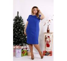 Красивое платье электрик ККК1216-0685-1