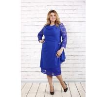Синее нарядное платье ККК1648-0715-1