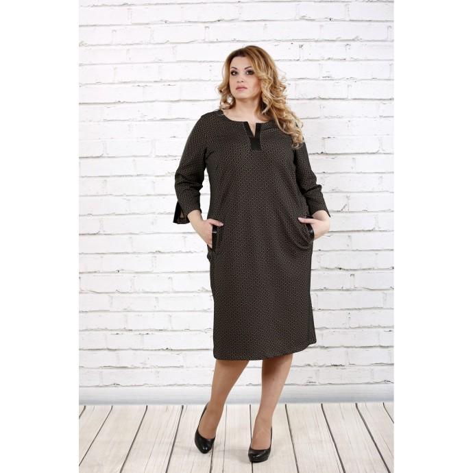 Платье из жаккарда ККК1638-0718-2