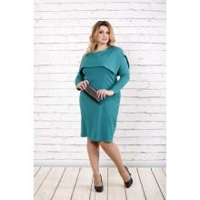 Бирюзовое платье ККК1634-0719-3