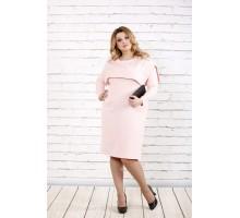 Очень нежное светлое платье ККК1636-0719-1