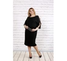 Черное свободное платье ККК1916-0769-1