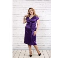 Модное длинное фиолетовое платье ККК1917-0768-3