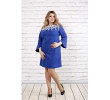 Платье электрик с прошвой ККК1940-0760-1