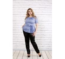 Блузка джинсового цвета ККК1947-0757-3