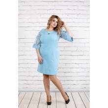 Платье небесно-голубого цвета ККК1953-0755-3