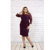 Красивое платье баклажан ККК1921-0767-2