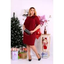 Красное платье ККК1145-0652-2