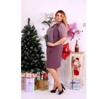 Бисквитное платье с цветком ККК1144-0652-3