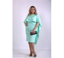 Мятное платье ККК33363-01144-3