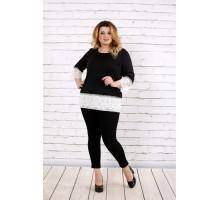 Черная блузка ККК1763-0676-1