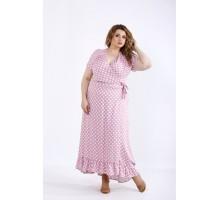 Красивое платье фрезия в горох ККК44416-01205-3