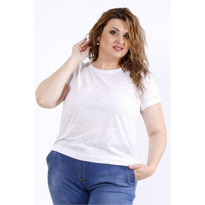 Белая удобная футболка ККК44428-01201-3