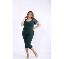 Практичный и удобный комплект: капри и блузка ККК44446-01195-1
