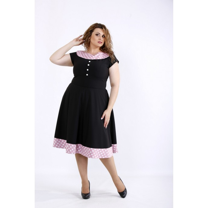 Красивое летнее платье ККК44462-01189-3