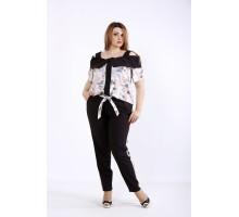 Комплект с пудровой блузкой ККК5555-01226-2