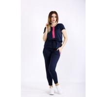 Синий спортивный костюм ККК22240-01123-1