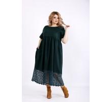 Зеленое платье макси ККК22242-01122-2