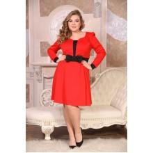 Платье Амадея красный НВ599919