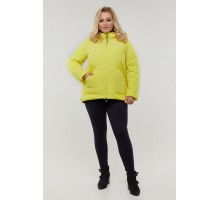 Двухсторонняя куртка лимонного цвета РК11D17-940
