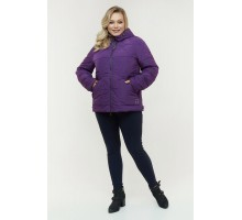 Фиолетовая весенняя куртка РК11D24-934