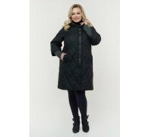 Удлиненная куртка черная РК11D26-933