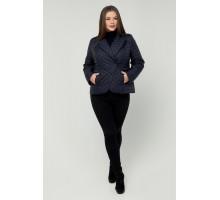 Куртка-жакет темно-синий РК11D35-948