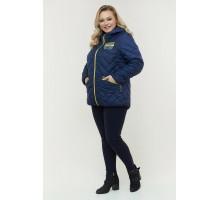 Синяя весенняя двухсторонняя куртка РК11D23-934