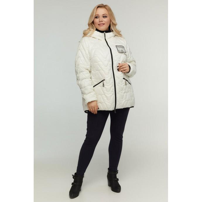 Весенняя двухсторонняя куртка белая РК11D22-934