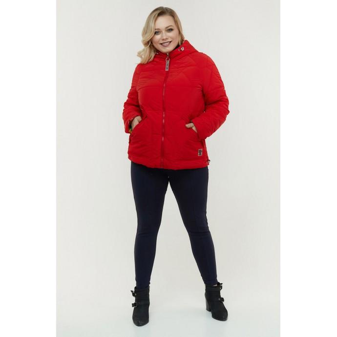 Двухсторонняя куртка красная РК11D25-940