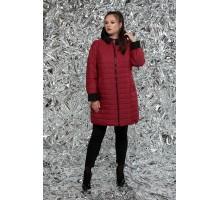Куртка женская двусторонняя бордо рк1128r-М-768