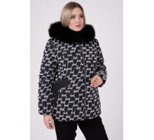 Зимняя куртка с песцом РК111134-680