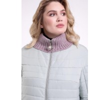 Элегантная мятная куртка осенняя РК1182r-723