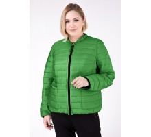 Куртка зеленая двухсторонняя РК111182-733