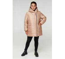 Пудровая демисезонная куртка на молнии РК11S6-885