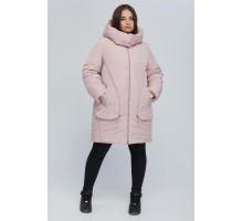 Розовая куртка удлиненная РК11S27-894