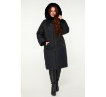 Зимнее пальто с натуральной опушкой РК11S50-910