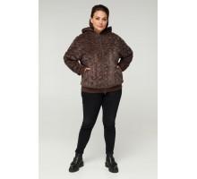 Коричневая модная куртка РК11S32-889