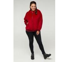 Курточка красная из ангоры РК11S28-889