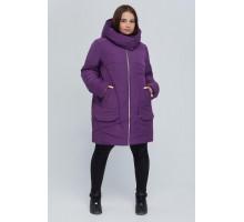 Фиолетовая куртка удлиненная РК11S23-894