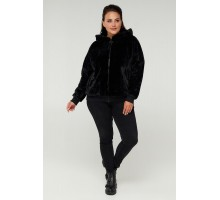Черная модная курточка РК11S29-889