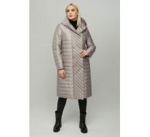 Стальное пальто стеганное на кнопах РК11S18-854