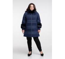 Зимнее пальто с мехом РК111125-650
