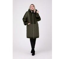 Пальто зимнее с мутоном РК111159-663МТ