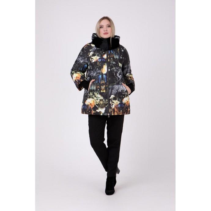 Куртка с принтом РК111161-692