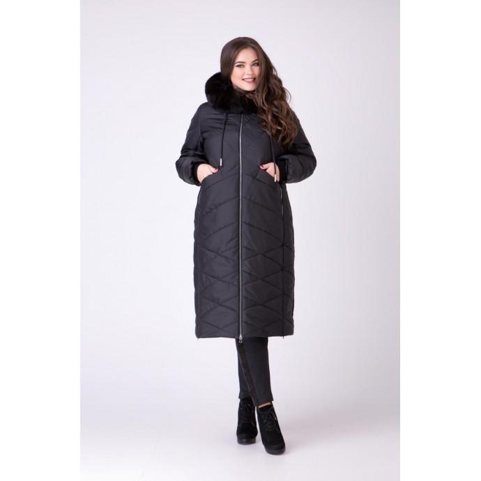 Пальто с песцом РК111165-693N