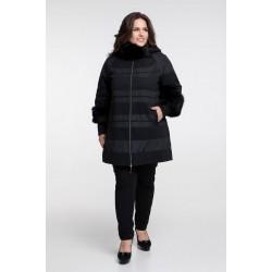 Зимнее пальто с мехом РК111126-650