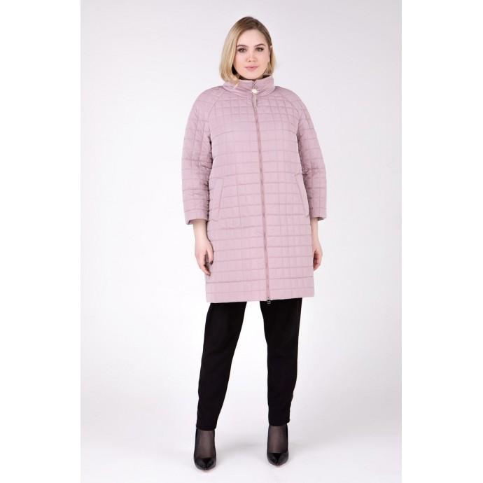Пальто цвета пудры РК1111125-755