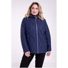 Двухсторонняя синяя куртка осенняя РК11-738