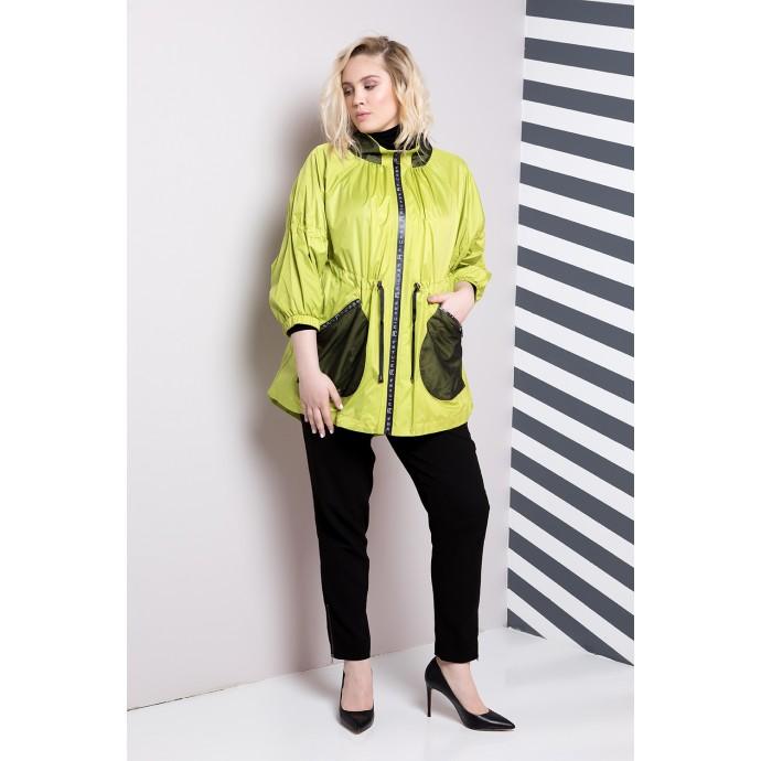 Куртка женская с черными карманами  РК1169-583
